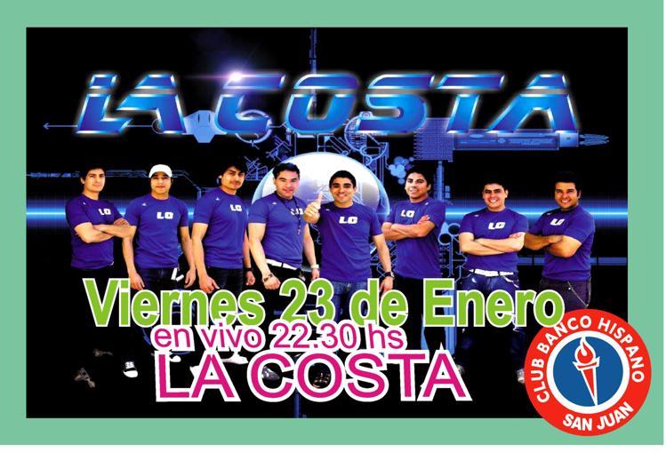 show en vivo_La Costa
